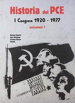 portada Historia del Pce: I Congreso, 1920-1977. Vol. I y ii