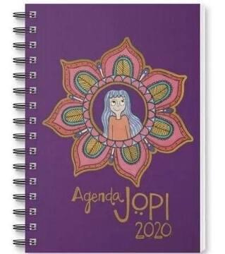 portada JOPI AGENDA 2020 - LILA