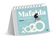 MAFALDA 2020 CALENDARIO ESCRITORIO - AZUL