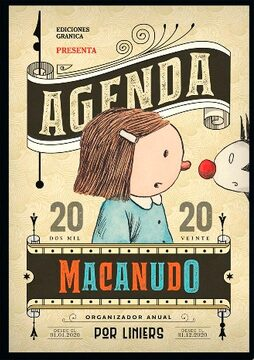 portada Macanudo 2020 Cosida Bandera