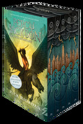 Percy Jackson and the Olympians 5 Book Paperback Boxed set (New Covers w (libro en Inglés) - Rick Riordan - Disney Press