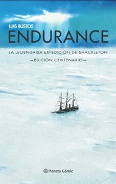 portada Endurance. La Legendaria Expedicion de Ernest Shackleton