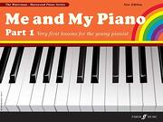 Me and my Piano Part 1: Very First Lessons for the Young Pianist (Faber Edition: The Waterman (libro en Inglés) - Marion Harewood - Alfred Music