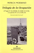 Trilogia de la Ocupacion - Patrick Modiano - Anagrama