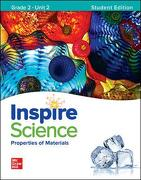 California Inspire Science Student Edition Grade 2 Unit 1-4