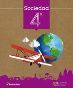 Sociedad 4º Basico. Todos Juntos (2016) (Santillana) - Santillana - Santillana