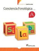 Cuaderno de Conciencia Fonológica a - Prekínder - Varios Autores - Santillana