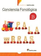 Cuaderno de Conciencia Fonológica b - Kínder - Varios Autores - Santillana