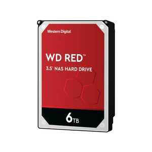 WD Red 6TB NAS Hard Disk Drive - 5400 RPM Class SATA 6Gb/s 256MB Cache 3.5 Inch (new)