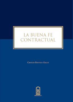portada La buena fe contractual