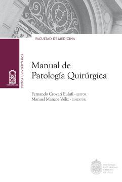 portada Manual de patología quirúrgica